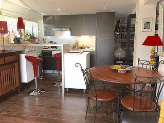 Apartamento con Aire AC. , Wifi, gran parking privado en las puertas de Toulouse