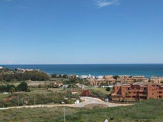 Magnifique penthouse 2 ch sur golf - Casares - Costa del Sol