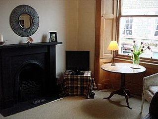 Centrally Located Little Flat, Full Of Character InThe Border Town Of Melrose.