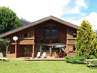 Chalet Charmilles, traditional, 5 bedroom chalet, catered or self-catered.