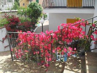Monolocale in villa, nei pressi del centro storico di Ischia Ponte e spiaggie