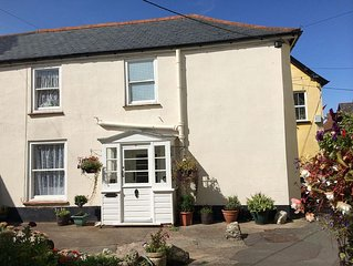 Character cottage in friendly village on the Somerset coast, close to Exmoor.