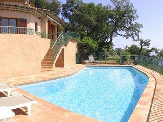 My-Villa: elegant modern villa equipped for 10+2. Pool/Airco/Sea views/WiFi/VoIP
