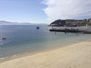 1a linea de Playa en Raxo a 5 minutos de Sanxenxo