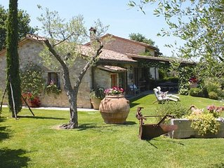 Todi beautiful 3 bed house fabulous views across Umbria Stunning private garden