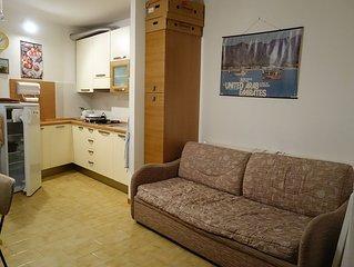 Appartement 2 pièces dans le centre historique, à 200 m de la plage