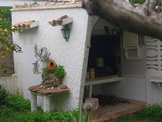 Apartamento con jardín privado en playa Almardá, Sagunto./ Seaside near Valencia