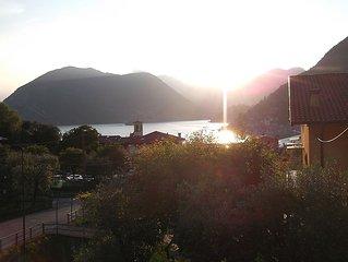 Sulzano 'Il ponte dei sogni' appartamento vista lago