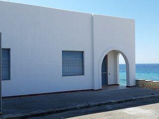 House on the sea of Salento