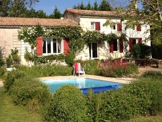 Charming Farmhouse with pool, 15 mins to St Emilion & Pomerol winelovers dream