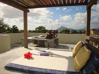 Studio C World class beaches Hiking & all natural highlights Ocean views on roof