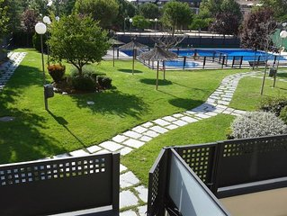 Madrid - Amazing flat with garden, paddle tennis court and swimming pool