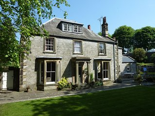 The Old Vicarage Bed and Breakfast in attractive Peak District village