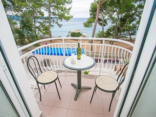 Family friendly apartment for 5 persons, on the beach