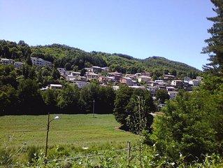 Casa panoramica tra mare e montagna in Calabria, Sila cosentina. Amabile, solare