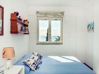Appartamento con terrazza Vista Mare a Gaeta Medievale - Parcheggio privato