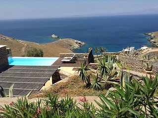 120sq meters villa with a swimming pool and a great sea view ideal for relaxing