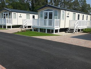 Prestige Mobile Home With Decking On A 5* Haven Holiday Park in Poole