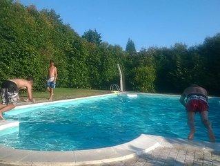 Wonderful villa with swimmingpool near the lake