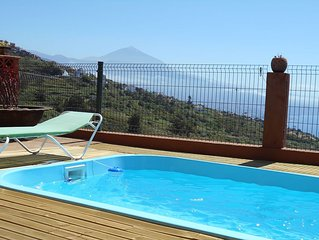 Tenerife apartments facing the Teide and the sea