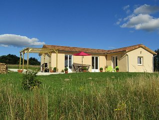 Family Friendly Gite Nr Sarlat With Beautiful Views Of The Dordogne Countryside