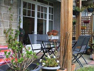 Bel appartement avec terrasse plein sud et jardin a Biarritz