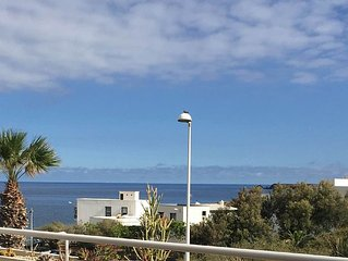 3 bedroom apartment at El Poris, with direct sea view, free wifi