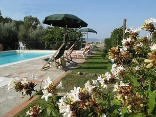 Villa with pool in Tuscany, close to San Gimignano and Volterra
