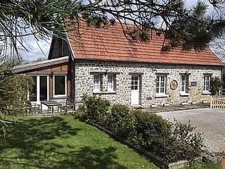 Quality 3 Bedroom Stone Cottage In The Normandy Countryside