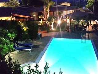 Oasi del Borgo - Saturno | bilocale vista mare, piscina, wifi, jacuzzi, clima