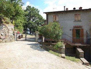 Casa di campagna con piscina nel cuore del Casentino