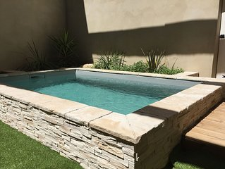 Maison de village avec piscine chauffee - promo juillet