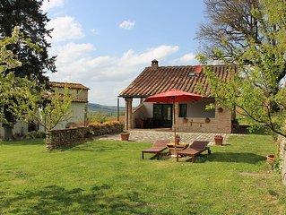 Fienile privato per relax e natura in campagna Toscana