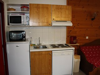 Appartement à Pelvoux Pays des Ecrins, idéal FAMILLE