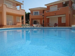 Refurbished villa with shared pool - all new furniture and equipment 2015
