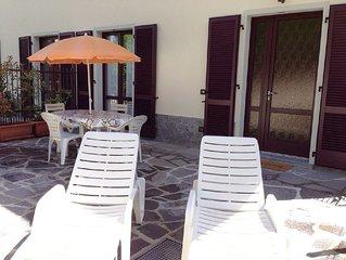 Ampio monolocale con patio in Bellagio