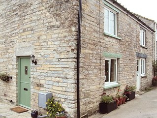 2 Withy Cottages has 2 bedrooms a cosy sitting room with wood burning stove.