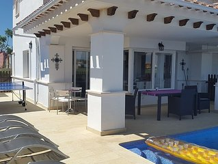 Casa Jacks, Great Frontline Golf Villa With Private Pool And Free Wi-Fi