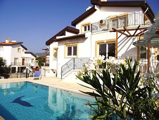 Villa 2 with own private pool, enjoy a dip in the