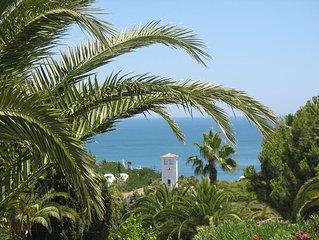 Location nice and quiet apartment with sea views in the Algarve (Armacao de Per