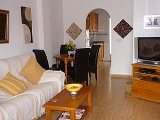 Private Roof Top Sun Terrace, Sea Views, South Facing, WiFi and Aircon