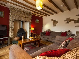 Luxury Teesdale Holiday Cottage sleeping 8 in Cotherstone, County Durham