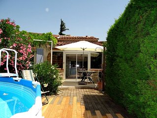 Duplex 4 people in the heart of Provence