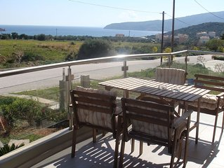 Sandra`s sea view at Sounio. Only 6 minutes drive to the Temple of Poseidon.
