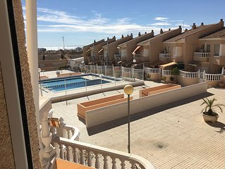 Holiday house in Santa Pola with a swimming pool