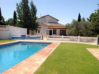 Charming villa with very private pool set in a beautiful olive grove