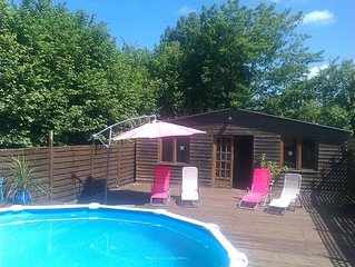 Ideal For 2, Countryside views, Vallee De La See, Nr Bay Of Mont Saint Michel