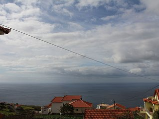 Vineyard House in Calheta with sea view