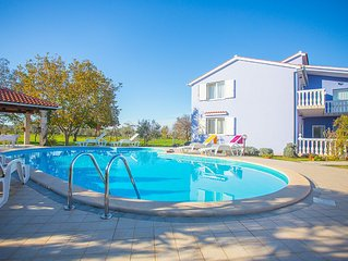 Comfortable vacation apartment with a pool
