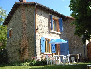 The Cottage 'Maison Lavaud' is located in the Haute Vienne, Limousin.